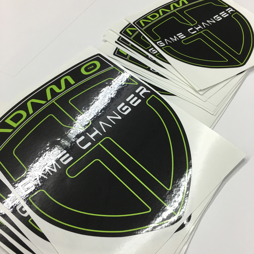 Crest vinyl Decal Stickers