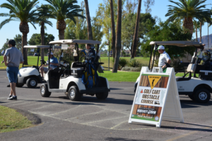 golf event signs