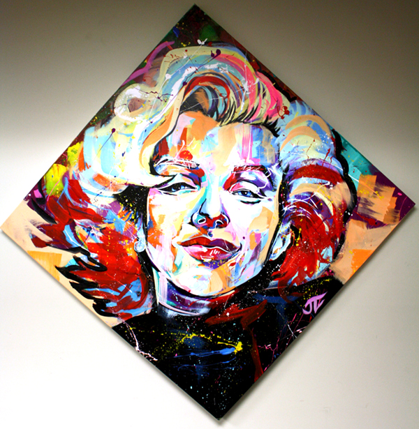marlyin pop culture design painting