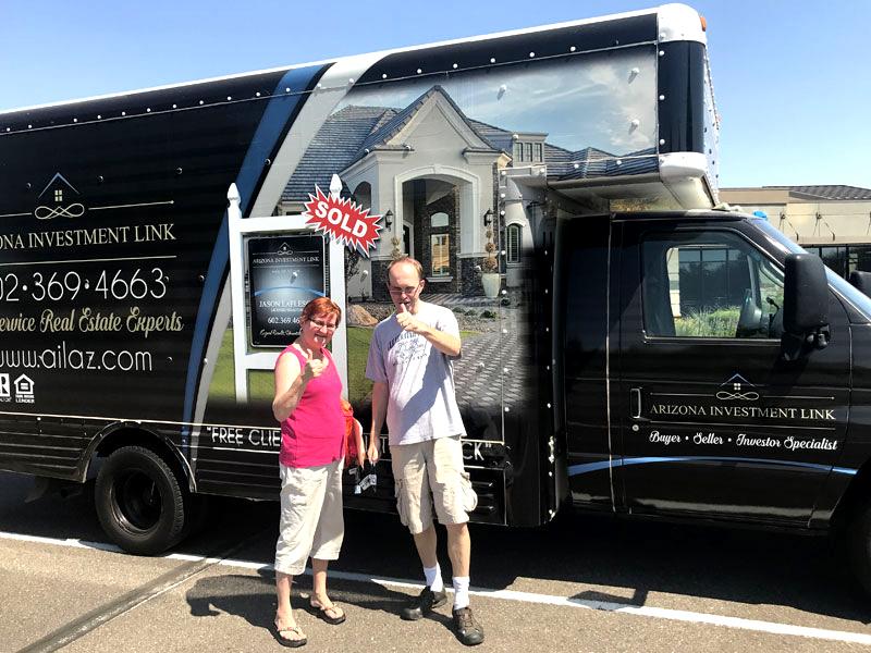 black Cusotm vinyl wrapped moving truck