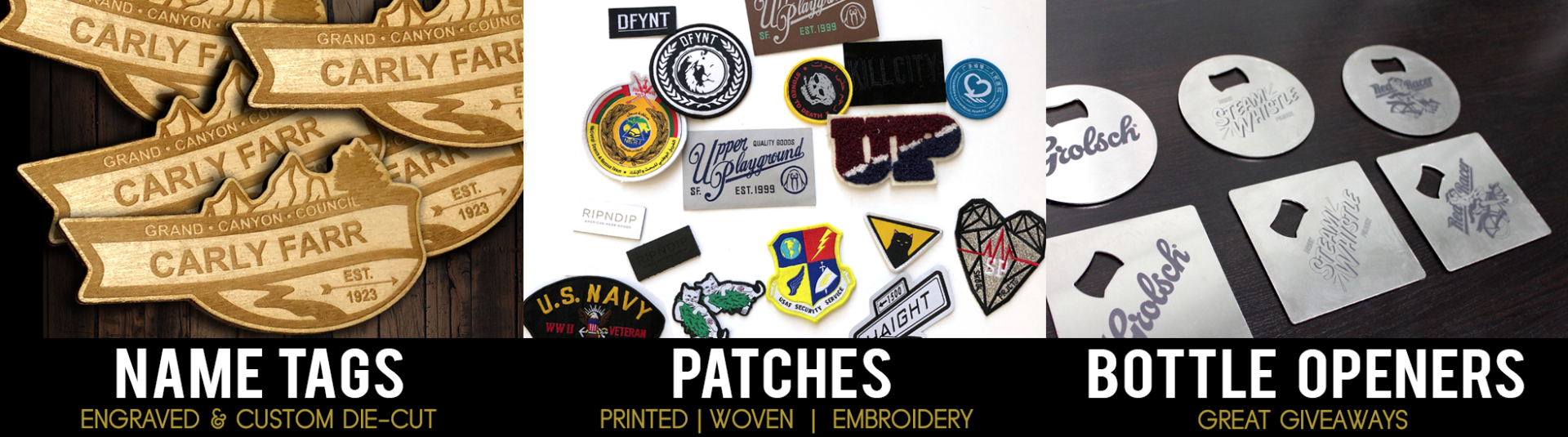 accessories_name_tags_and_patches Phoenix Arizona Company
