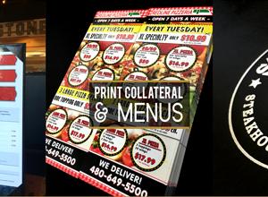 Pizza Flyer design Make Over