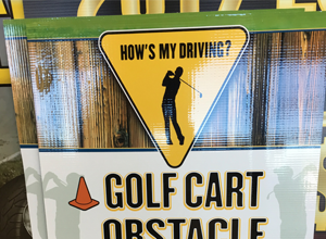 How's My Driving Golf Event Marketing