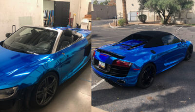 vehicle_wrap_blue_chrome_before_after