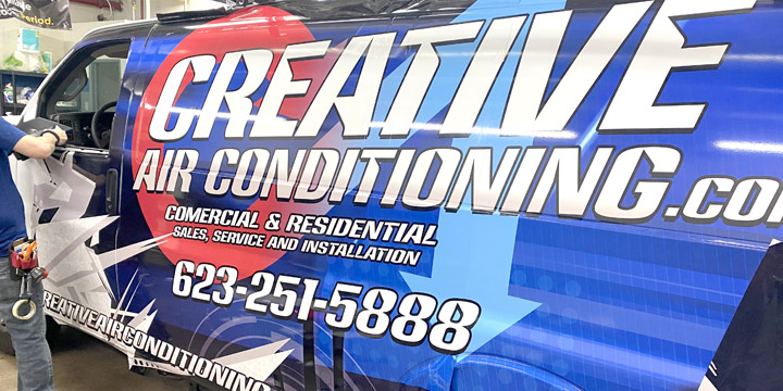 Vehicle Wrap Signs
